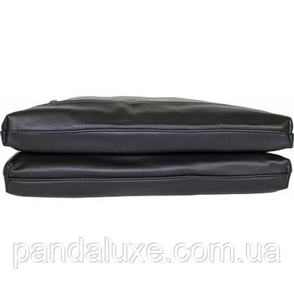 Сумка портфель женская элегантная стильная замшевая со стразами, фото 3