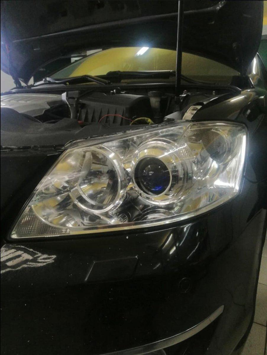 Установка линз Toyota Camry