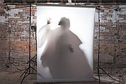 Пленочный FROST светофильтр 1,2*1,0м Chris James C.T.  White Diffusion Lighting Gel, фото 3