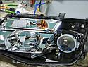 Установка линз Acura MDX, фото 2