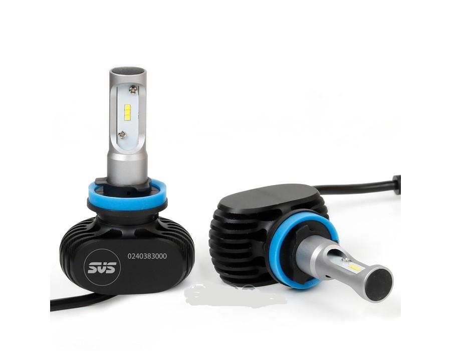 Лампы светодиодные SVS S1 H8-H9-H11 5000K 4000Lm (P28521)