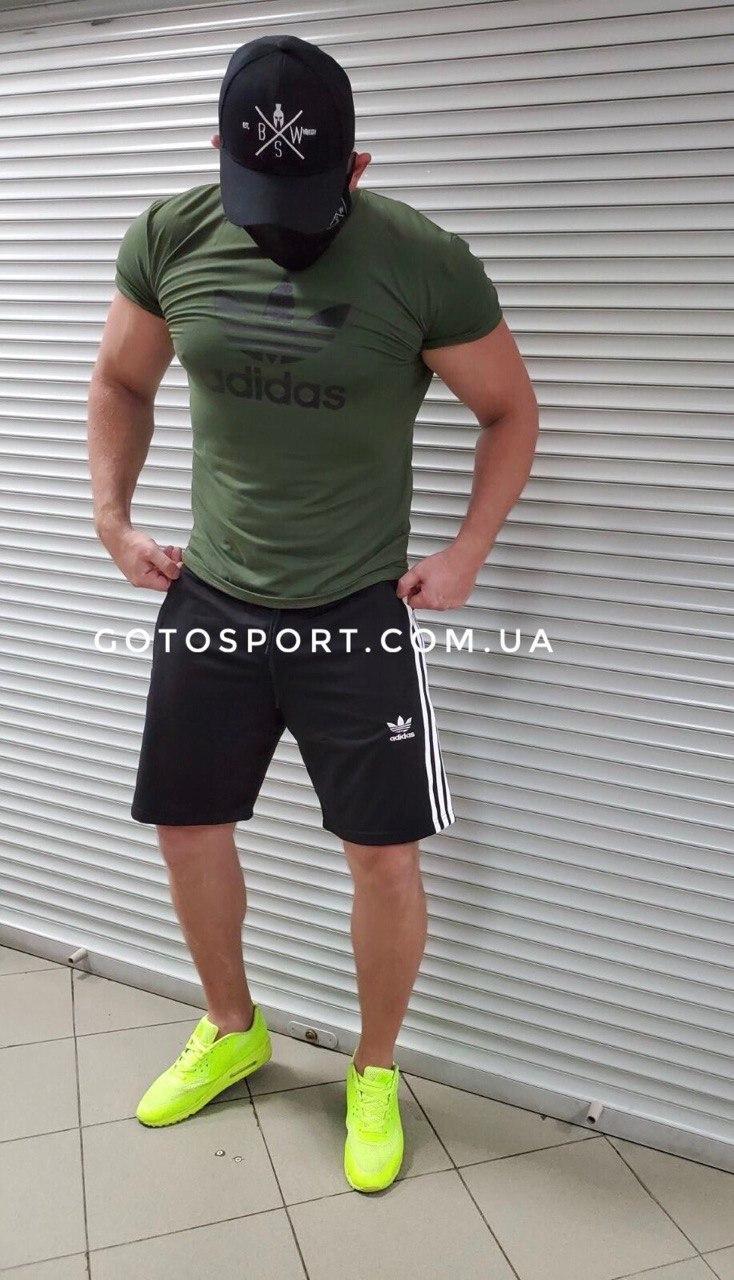 Мужской спортивный костюм (футболка и шорты) Adidas Dew