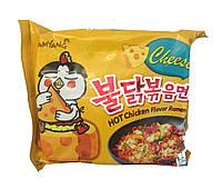 Лапша быстрого приготовления c курицей и сыром SamYang 140 г