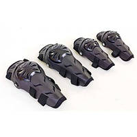 Мотонаколінники і налокітники Alpinstars Black, фото 1