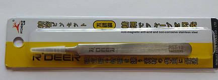 Пінцет радіотехнічний R Deer RST-13, металевий, фото 2