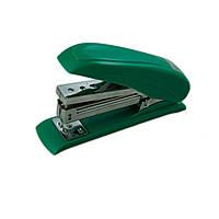 Степлер пластиковий до 20 арк., скоба № 24, 26 «POWER SAVING» зелений.
