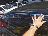 Ветровики c хром кантиком на Skoda Octavia A5 2009+