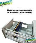 Шкаф для папок металлический ШФ-3А, офисный шкаф для документов, фото 5