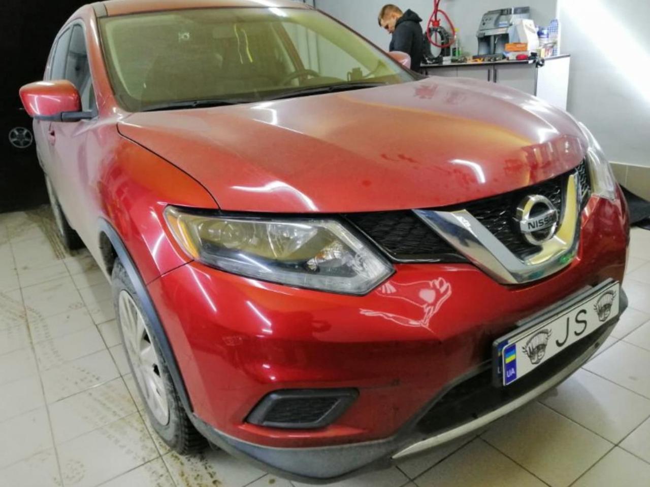 Установка линз Nissan Rogue