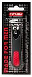 Кусачки книпсер для ногтей мужские в покрытии SOFT-TOUCH (9 см.) TITANIA art.1052/2Меn, фото 5