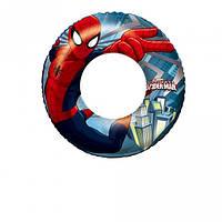 Надувной круг для плавания Bestway 98003 Человек-паук, 56 см (to-250441)
