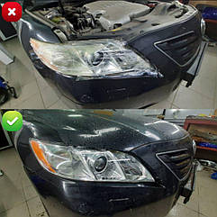 Ремонт фар Toyota Camry v40