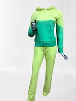 Женский спортивный костюм  двухцветный Aqua Турция