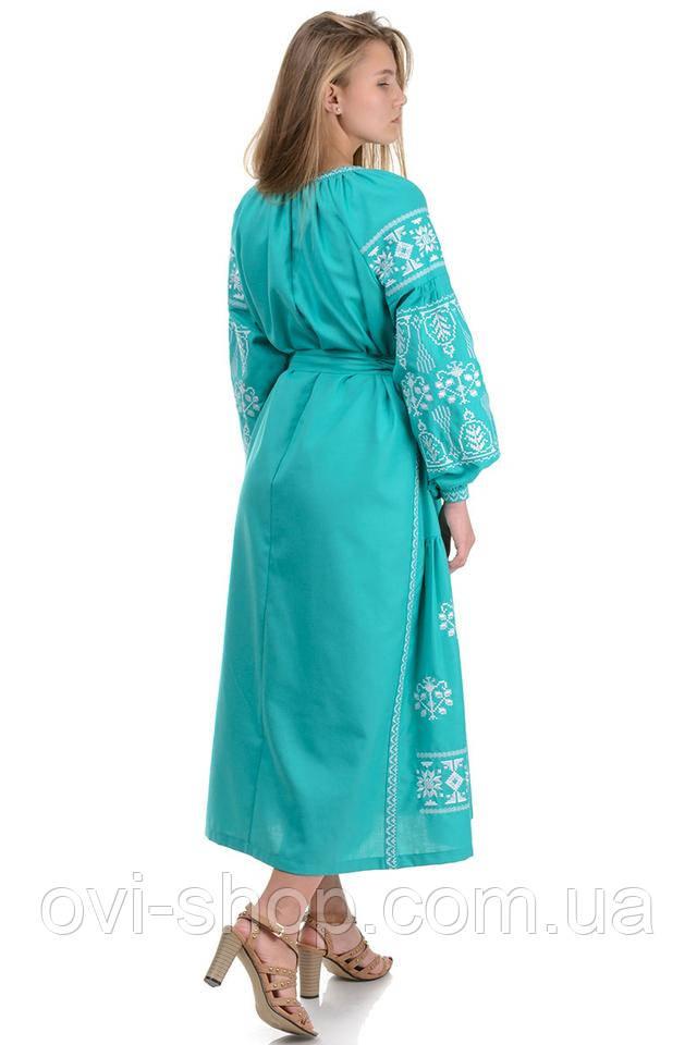 платье вышиванка украинское