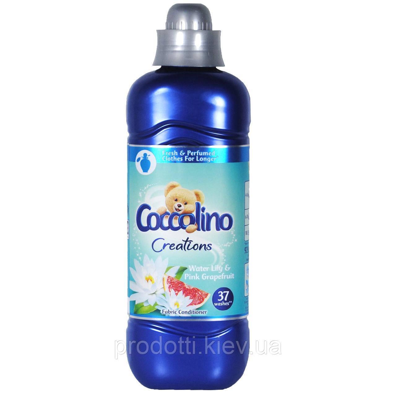 Coccolino Water Lily & Pink Grapefruit - ополіскувач для білизни 925 ml