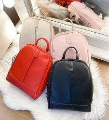 Вместительный женский рюкзак David Jones, модный городской рюкзак для девушки / жіночий рюкзак класичний черный