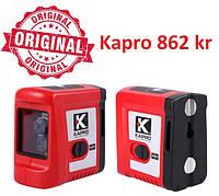 Уровень лазерный (нивелир) красный луч, 20 м / KAPRO Лазерний нівелір Kapro 862kr