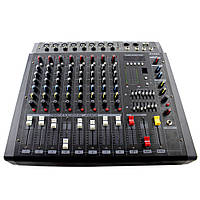 Аудио усилитель, микшерный пульт Yamaha BT 808D 8 канальный