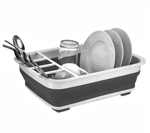 Сушилка для посуды складная силиконовая BN-090