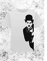 Футболка с Чарли Чаплином