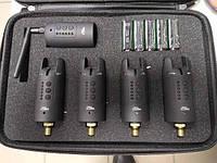 Набор сигнализаторов Weida FA217-4 4 шт. + пейджер Влагозащищенный на кронах