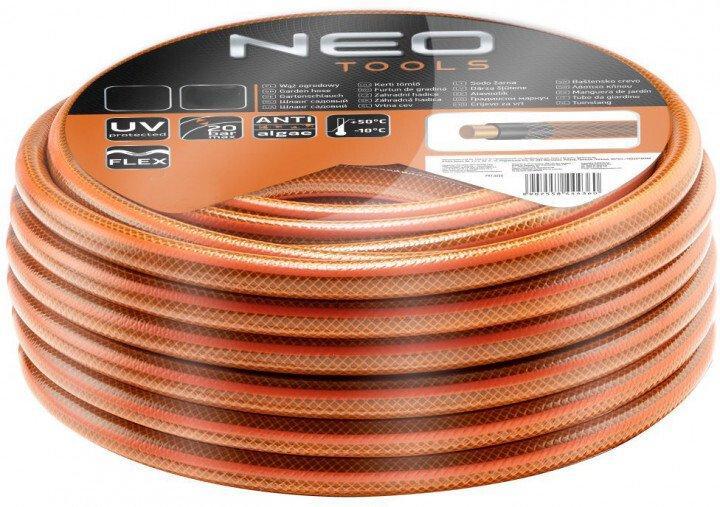 """Шланг садовый для полива Neo Tools Economic 1/2 """"x 20 м 4-слоя (15-800)"""