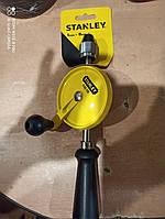Дрель ручная 265 мм STANLEY с одной шестерней и самозажимным патроном