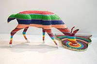 Художник Herb Williams. Скульптура оленя.
