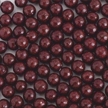 Стік-пакет кульки цукр d=5мм глянцеві 5г, темно-коричневі