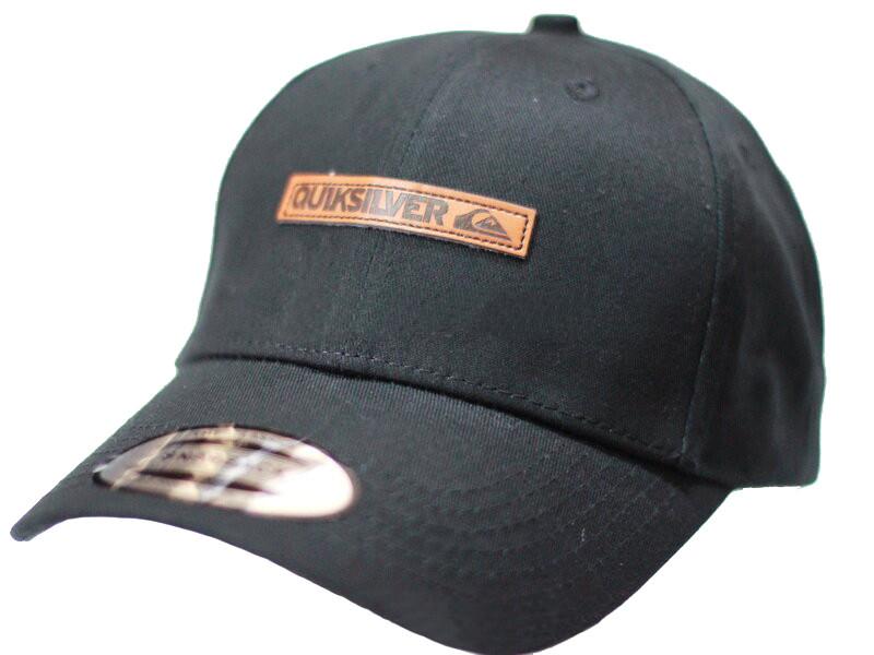 Бейсболка кожаный логотип коттон