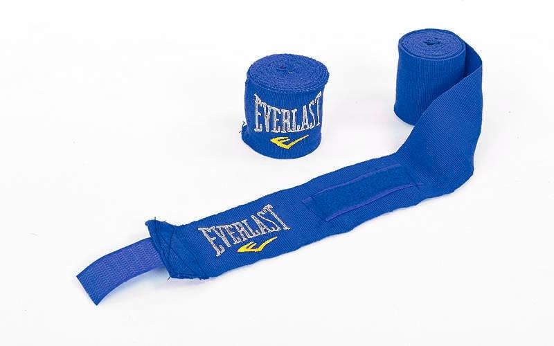 Бинты боксерские эластичные 3 м (пара) ELAST MA-5465-3 (синий)
