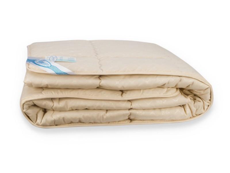 Одеяло Весна-Осень Шерсть Leleka-Textile Полуторный 140х205 Бежевый SKL53-239842