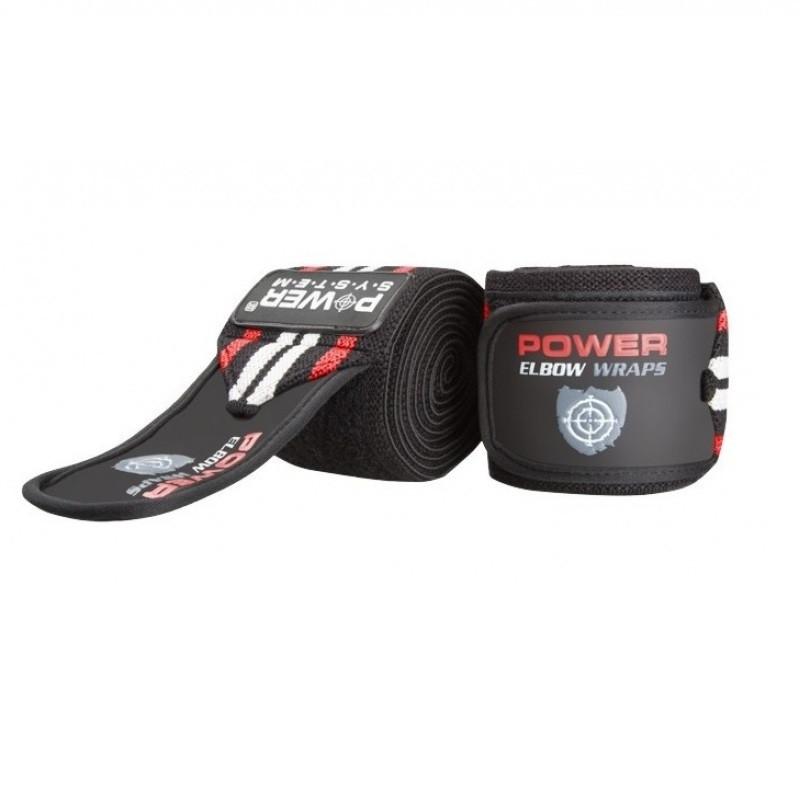 Локтевые бинты Elbow Wraps PS-3600 Red-Black SKL24-145362