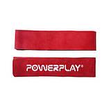 Лямки для тяги PowerPlay 5205 Шкіра Червоні SKL24-143790, фото 2
