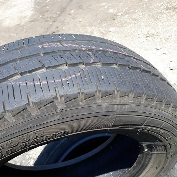 Шины б.у. 215.65.r16с Pirelli Chrono Four Season Пирелли. Резина бу для микроавтобусов. Автошина усиленная. Цешка