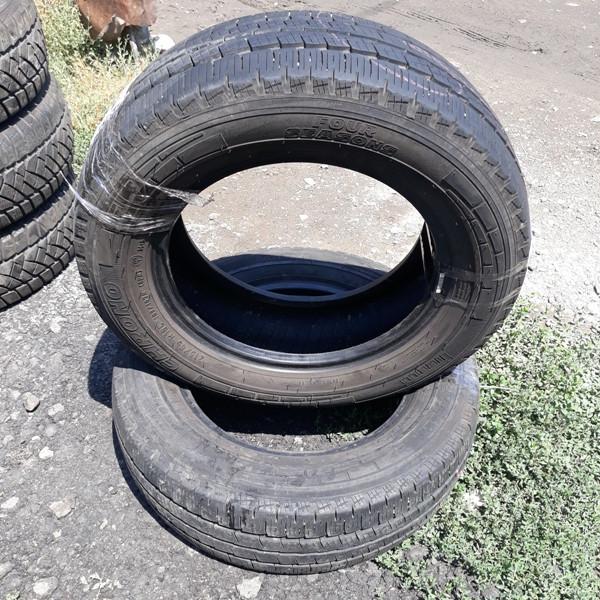 Бусовские шины б.у. / резина бу 215.65.r16с Pirelli Chrono Four Season Пирелли