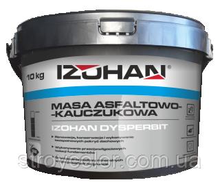 Битумно-каучуковая мастика IZOHAN DYSPERBIT 10КГ (Гидроизоляция смола)