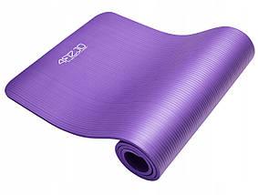Коврик (мат) для йоги и фитнеса 4FIZJO NBR 1 см 4FJ0016 Violet, фото 3
