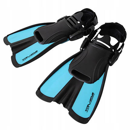 Ласты SportVida SV-DN0007JR-S Size 29-33 Black/Blue, фото 2
