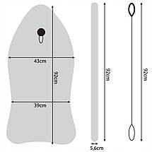 Бодиборд-доска для плавания на волнах SportVida Bodyboard SV-BD0002-4, фото 3