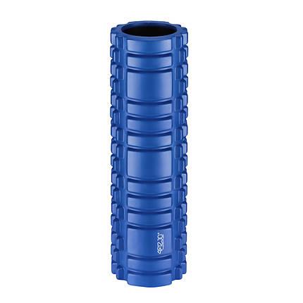 Масажний ролик (валик, роллер) 4FIZJO 45 x 15 см 4FJ0106 Blue, фото 2