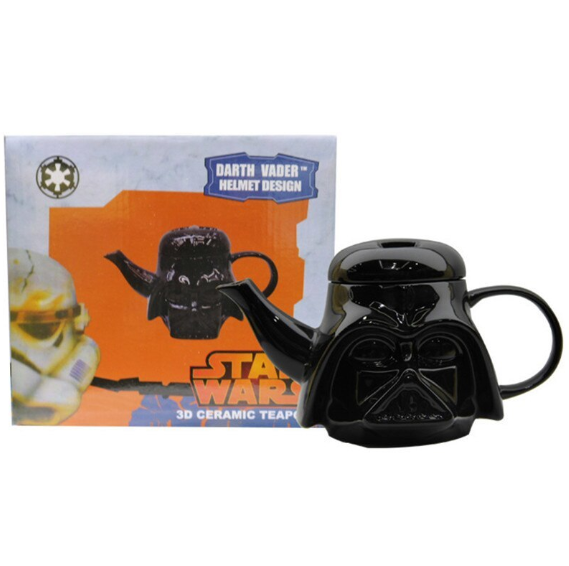Заварник для Чая Чайник Star Wars Заварочный Чайник Дарт Вейдер Керамика