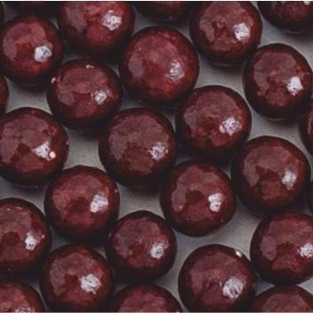 Стік-пакет кульки цукр d=10мм глянцеві (9шт), темно-коричневі