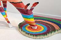 На создание скульптуры оленя ушло 40000 карандашей и 4 месяца работы.