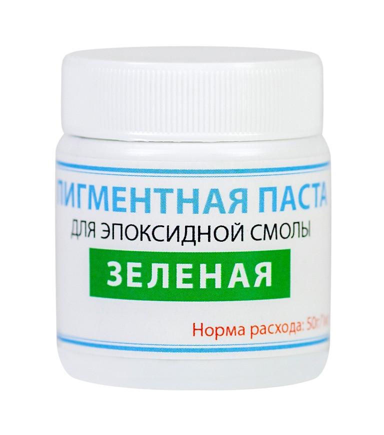 Пигментная паста краситель ТМ Просто и Легко, 50 г, зеленая SKL12-156216