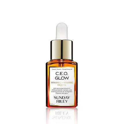 Масло для лица Sunday Riley C.E.O Glow Vitamin C + Turmeric Face Oil, фото 2