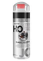 Черная Лакрица Гель смазка для секса лубрикант на силиконовой основе H2O Black Licorice 156мл. Orginal USA