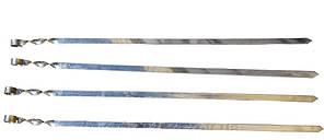 Шампур плоский для Люля-Кебаб толщина 3 мм, длина 100 см, ширина 20 мм