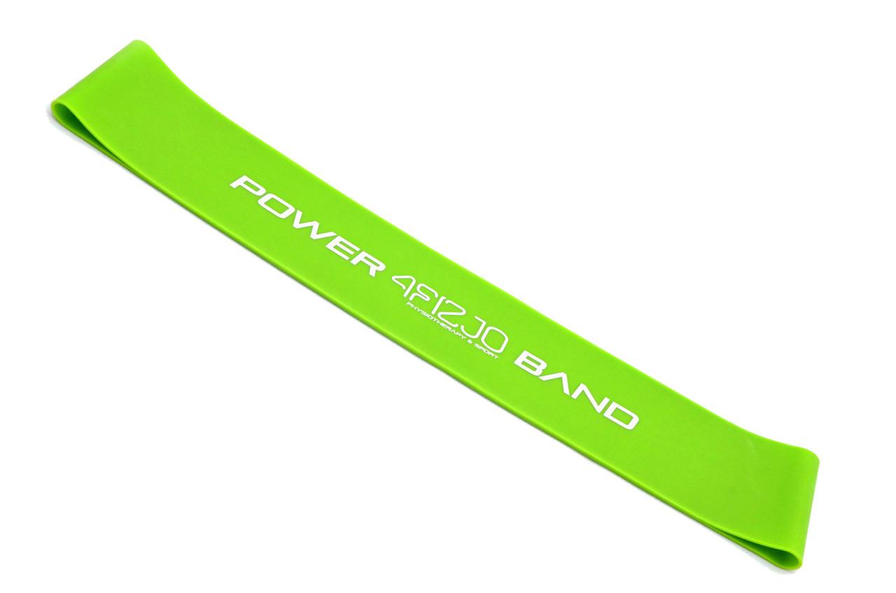 Резинка для фитнеса и спорта, лента-эспандер эластичная 4FIZJO Mini Power Band 10-15 кг 4FJ0012 SKL41-227517