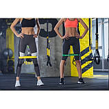 Резинка для фитнеса и спорта, лента-эспандер эластичная 4FIZJO Mini Power Band 10-15 кг 4FJ0012 SKL41-227517, фото 5